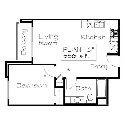Plan C floor plan